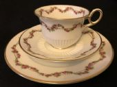 CAREWORN Beautiful Crescent china Tea trio